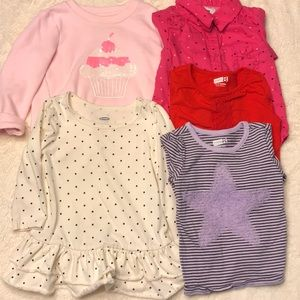 Other - 5 Piece lot of long sleeve shirts